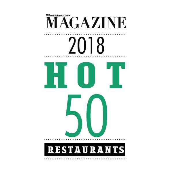 2018 The Weekend Australian's Hot 50